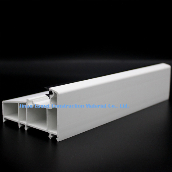 White PVC Profiles For Sliding Doors