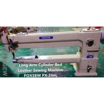 Long Arm Cylinder Heavy Duty Leather Sewing Machine