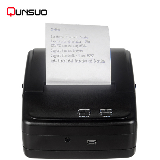 Mobile Android Handheld 58mm Dot Matrix Printer