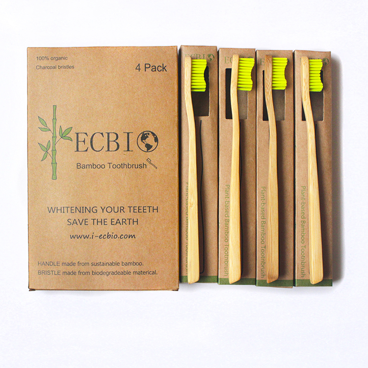 Private Label Bamboo Toothbrush