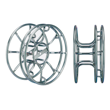 TV metal film studio skeleton cable reel