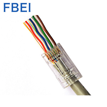 Hot selling 1.2MM EZ Cat6A utp connector