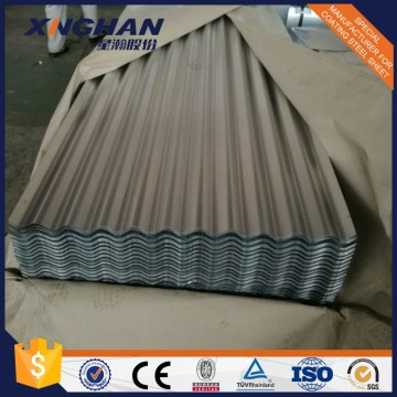 Hot dip galvanized corrugated steel roofing sheet