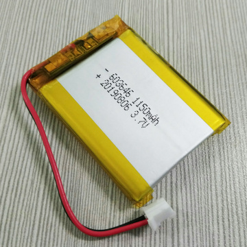 Hot Sell 603646P 3.7V 1150mAh Lipo Battery