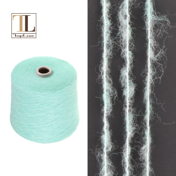 Topline wholesale soft warm merino wool brush yarn