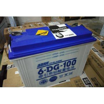 Lead-acid battery for traction