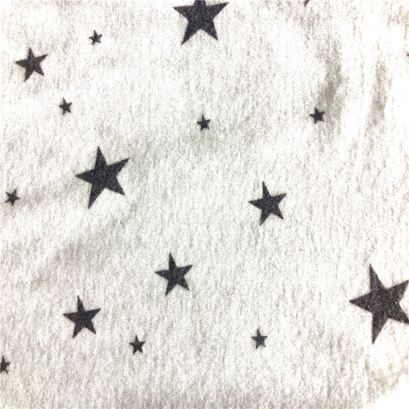 hotselling cashmere star print fabric