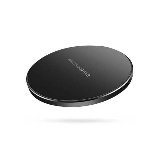 Super Slim 4.95mm Aluminium Alloy 10W Wireless Charger