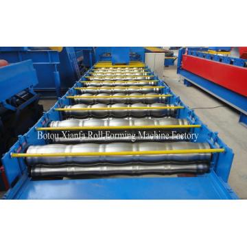 Normal Arc Corrugated Roof Glazed Roll Forming Machine