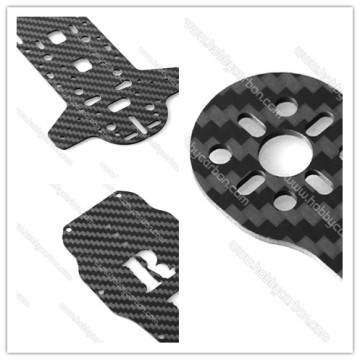 full carbon fiber cnc cutting plate for RC