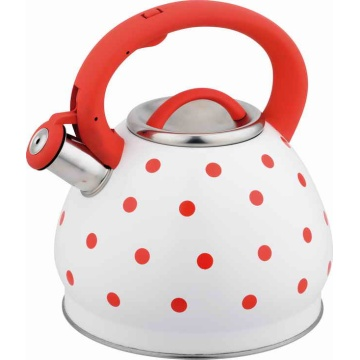 3.0Litre Apple shape tea pot with dot