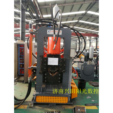 Angle Iron CNC Punching Shearing  Marking Line