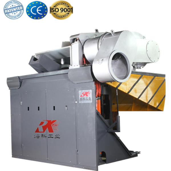 electric metal smelter copper scrap melting furnace