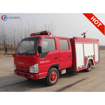 2019 New ISUZU 2500litres Water Fire Truck