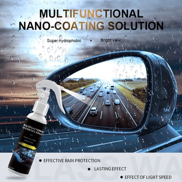 Glass Coating for Car Painting