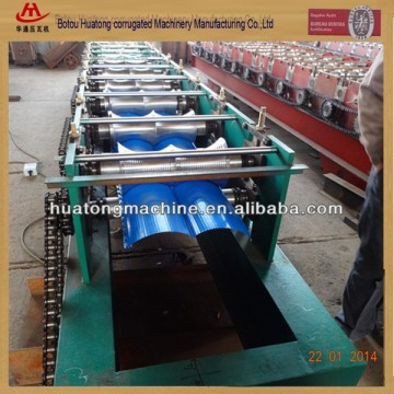 Colorful Steel cladding tile panel roll forming machine