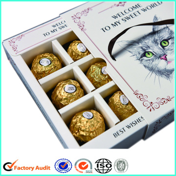 Luxury Chocolate Paper Box Gift