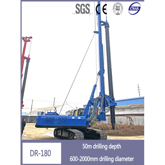 Dr-180 Model Diesel Engines Rotary Drilling Equipment