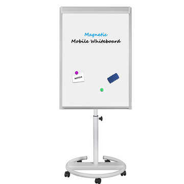 High quality Office Presentation Mobile Flip Chart Board
