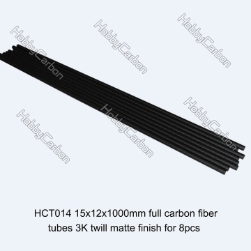 OEM Custom-made 100% Carbon Fiber Round Tube