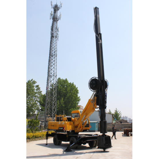 Small Hydraulic Wheeled Drilling Rig for Sale