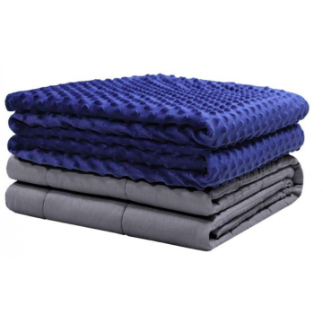 15/20 lbs Soft Minky Dot Weighted Gravity Blanket