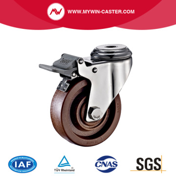 Bolt Hole Braked High Temperature Caster