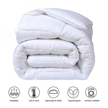 All-Season Down Alternative Quilted Cooling Comforter Duvet