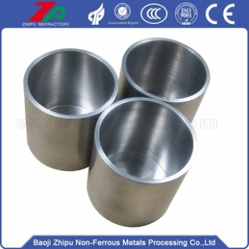 Custom sintered tungsten crucible for vacuum furnace