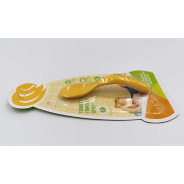 Compostable Corn-based Handles Toddler Training Spoon