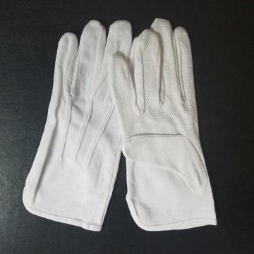 White Cotton Working Gloves