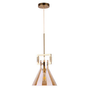 Decorative vintage indoor glass pendant lighting