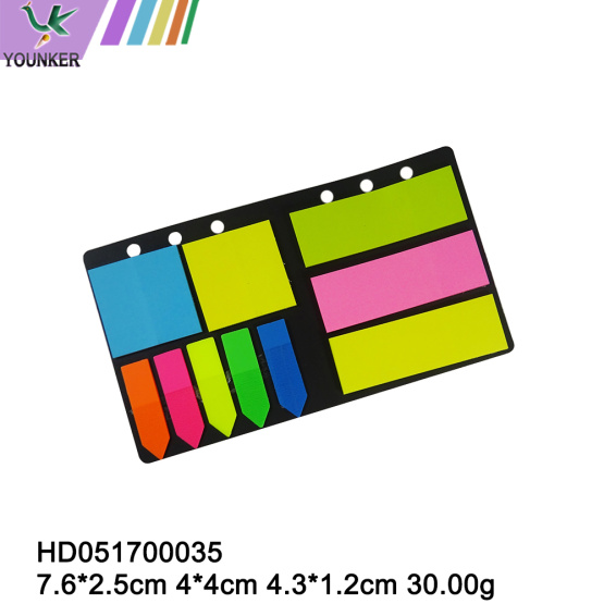 Neon Sticky Notes Flags Bright Colours Alterning