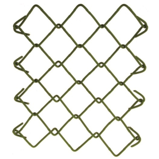 galvanized and PVC coated Temporary fancing panels Supplies and Accessories Black used chain link fences for sale factory