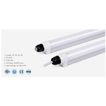 Dimmable Aluminum T8 4000K 2ft LED Tube Light