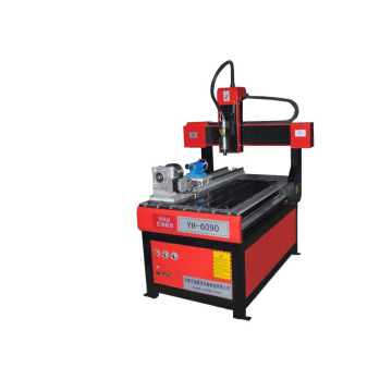 Mini 3D stone 4 axis cnc router machine