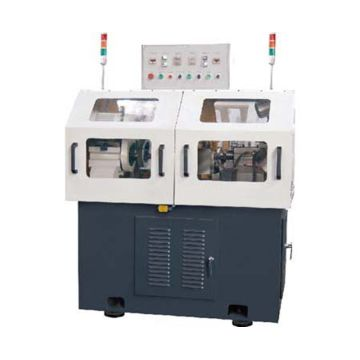 Precision double-sided center hole grinder