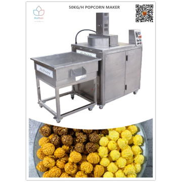 Hot oil popcorn machine in stock for sale