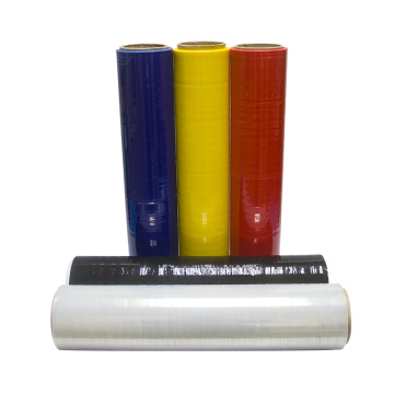 Plastic Stretch Film Black Hand Pallet Shrink Wrap