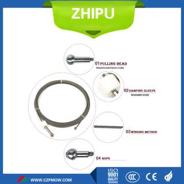 Tungsten wire heater for single crystal furnace