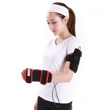 Far infrared electric wrist heating therapy pad