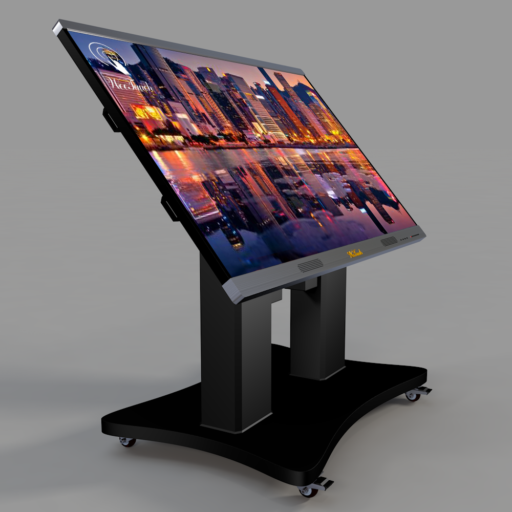 86 inches AI touch panel with Automatic stand