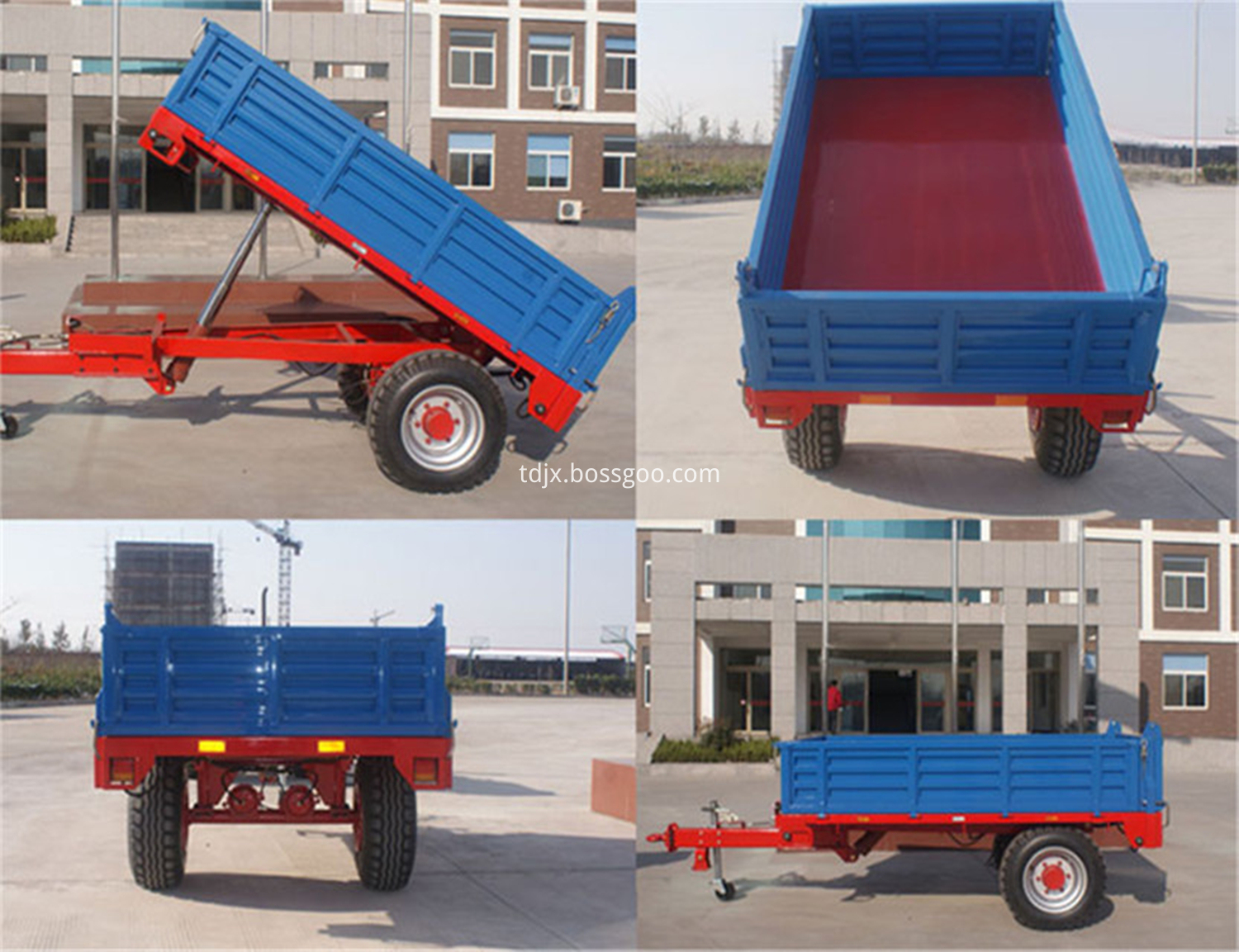 Single Axle Dump Trailer