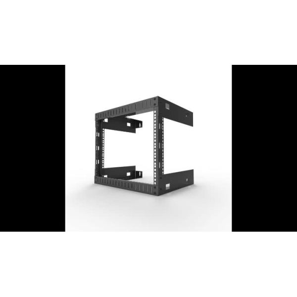 Open Frame Wall Mount Equipment Rack