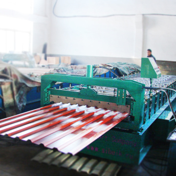 Low cost thickness 0.5mm arch roof roll forming machine