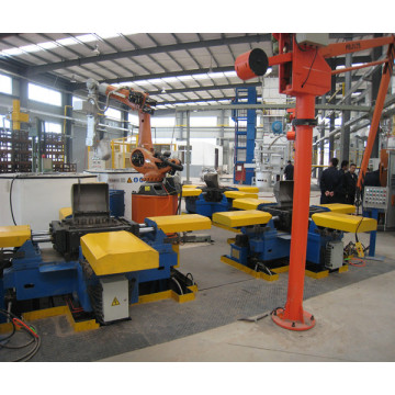 Metal gravity casting equipment