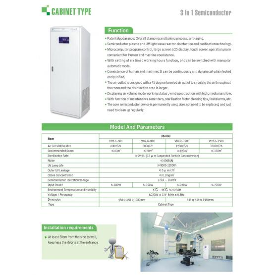 Cabinet type best portable air purifier for office