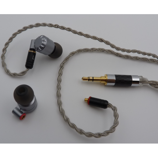 High Resolution Earphones/Earbuds with 3.5mm Gold Jack