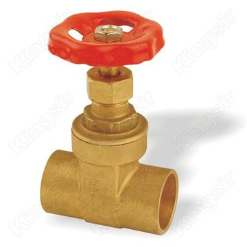 Mexico Brass Gate Valves With Solder Ends