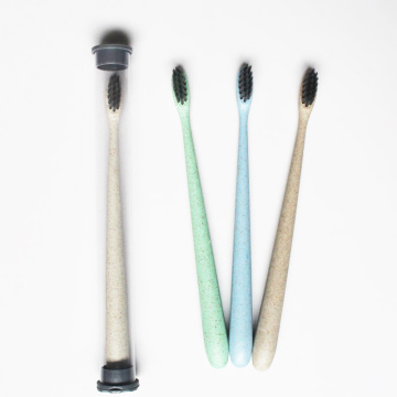 Environmental Biodegradable Wheat Straw Toothbrush